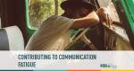 communication, fatigue, information overload, emails, social media