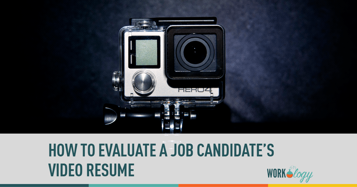 resume, video resume, candidate, job