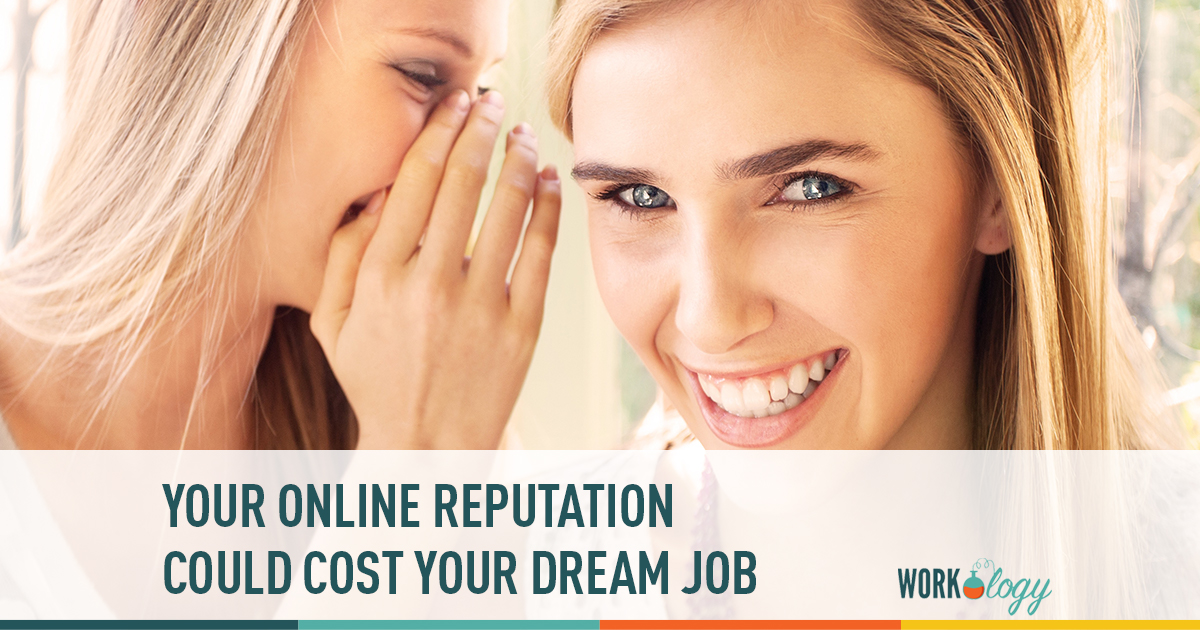 online, reputation, social media. footprint, dream job