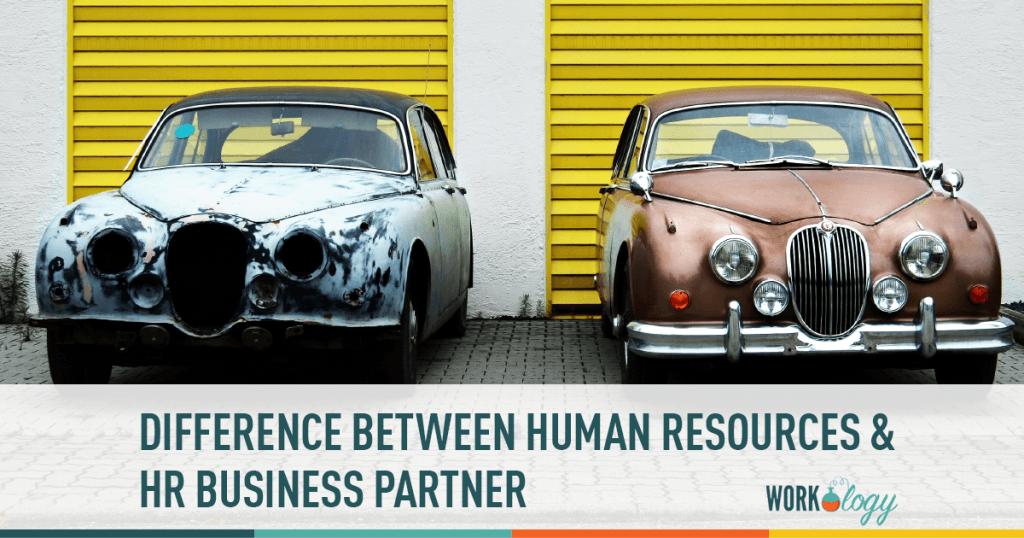 hr, hr business partner, differences