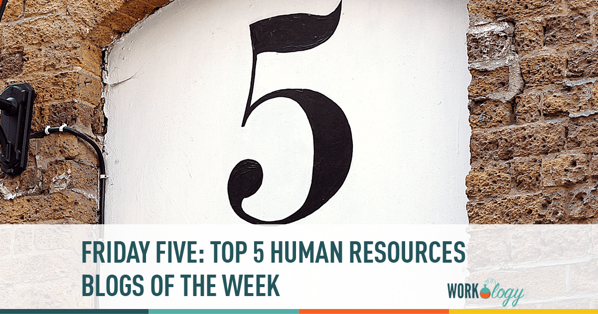 hr, blogs, friday five
