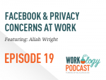 facebook, privacy, work, social media