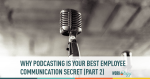 employee communication, podcasting, employees
