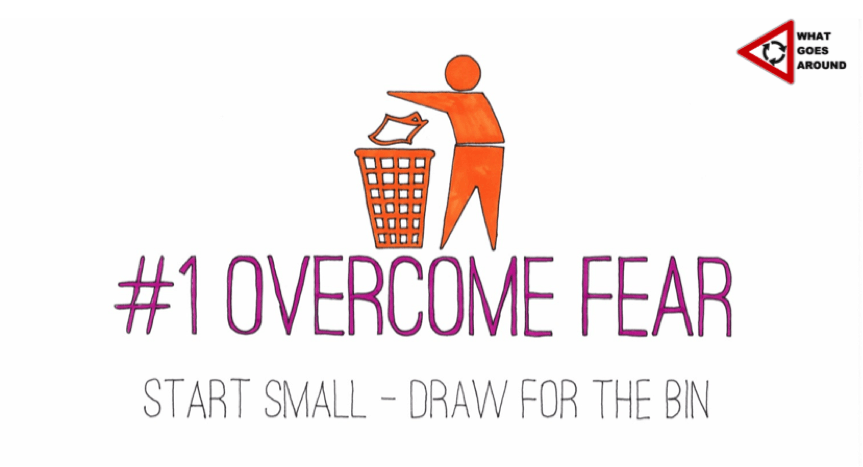 Creativity in HR, Doug Shaw - Overcome Fear