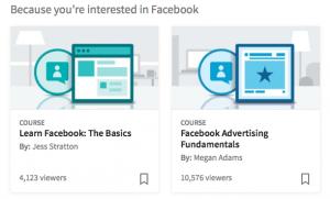 facebook, linkedin, learning, social media