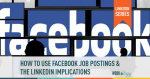 facebook, linkedin, social media, job postings