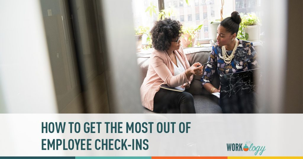 employee check in, check ins, employee communication, employee engagement, employee touch base, talking to employees,