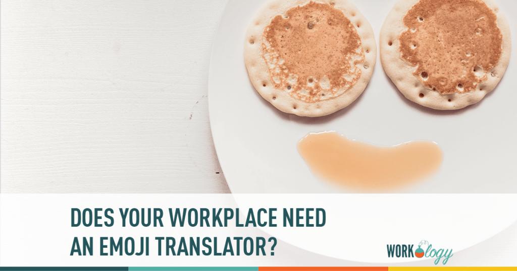 workplace, emoji, translator