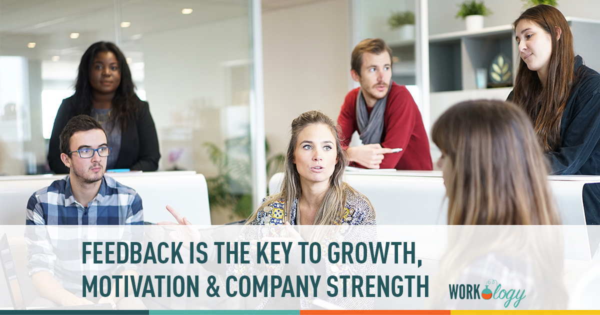 feedback, employee engagement, motivation, growth
