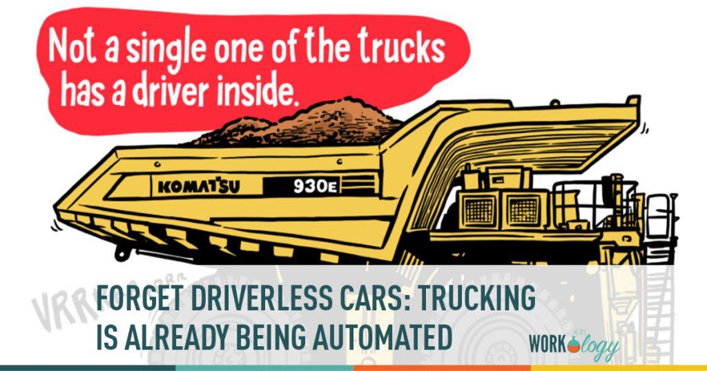 trucking, automation, automated trucks