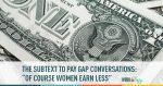 pay gap, gender wage gap, gender pay gap