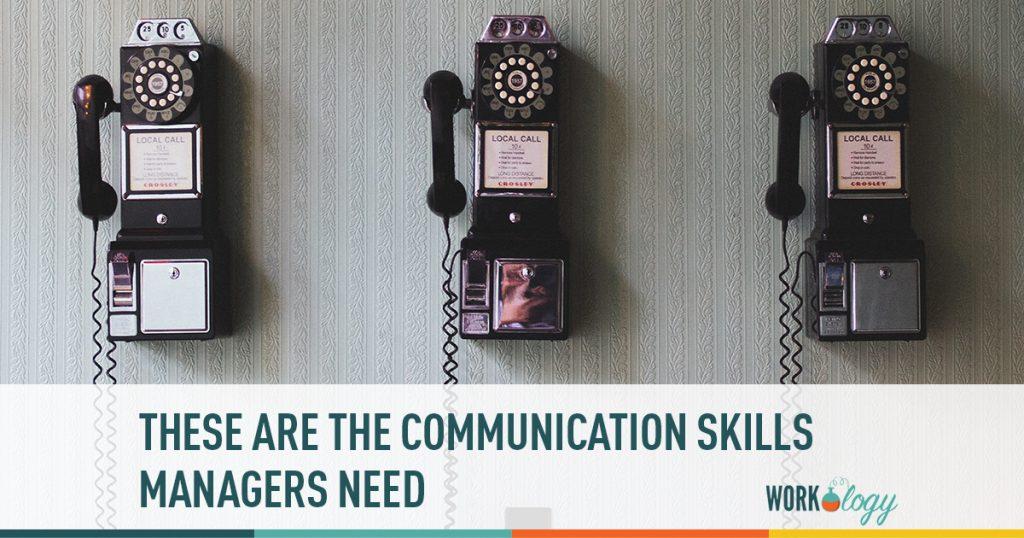 communication skills, managers