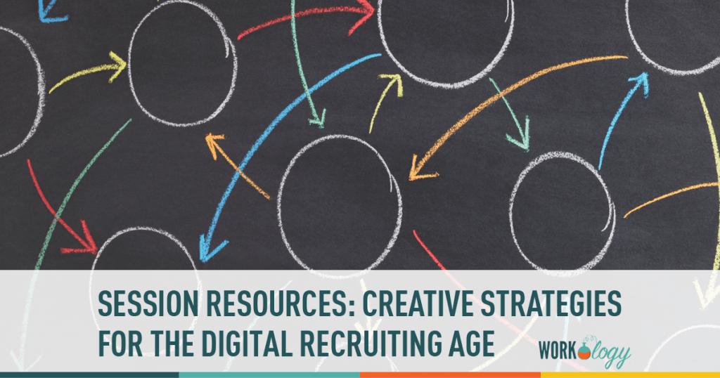creative strategies, digital recruiting, sourcing, recruiting