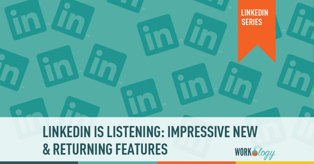 linkedin recruiter, linkedin features, linkedin updates, linkedin new features