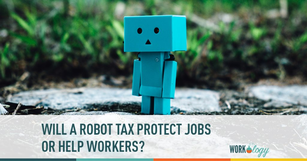 robot tax, robotification, robots taking jobs