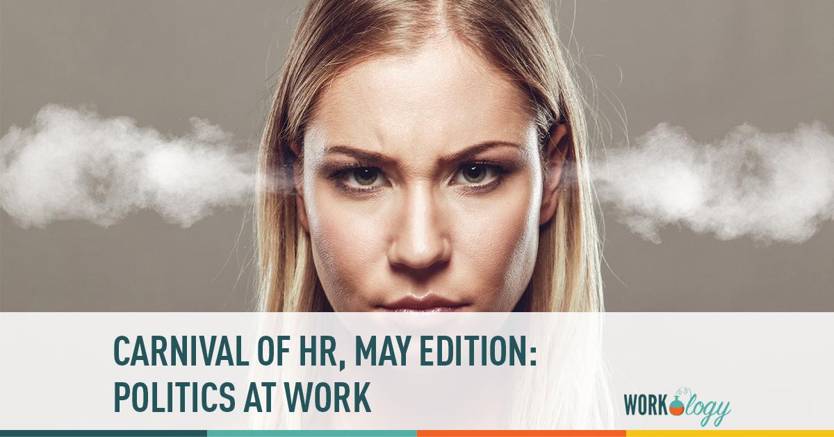carnival of HR, politics at work