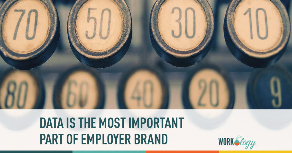 data is the most important part of employer brand