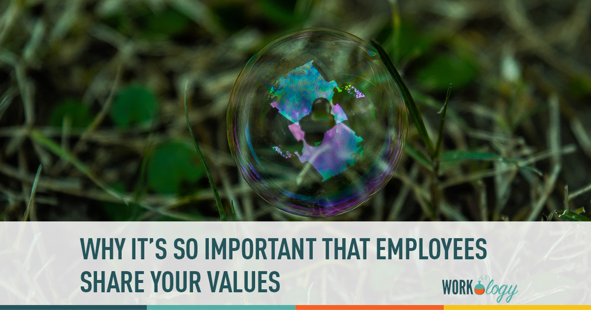why it's so important that employees share your values