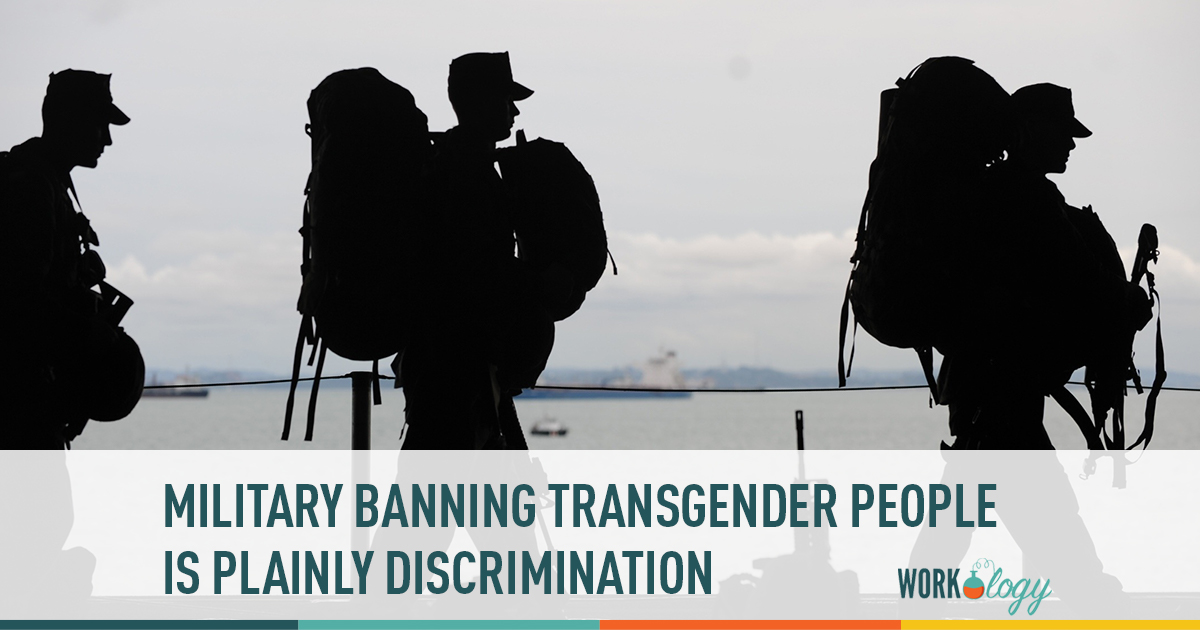 military banning transgender people is discrimination