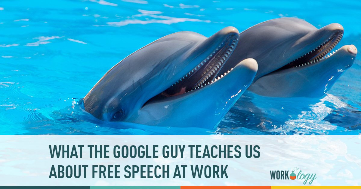 what the google guy teaches us about free speech at work
