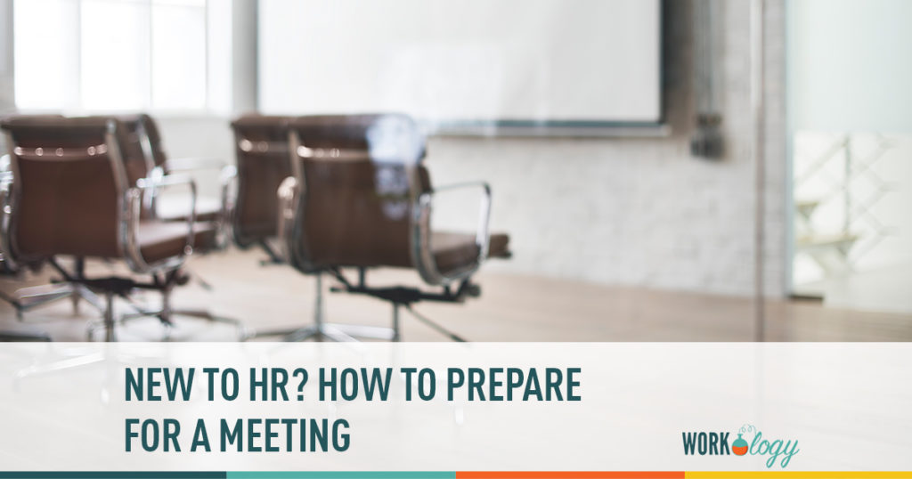 new to hr? preparing for a meeting