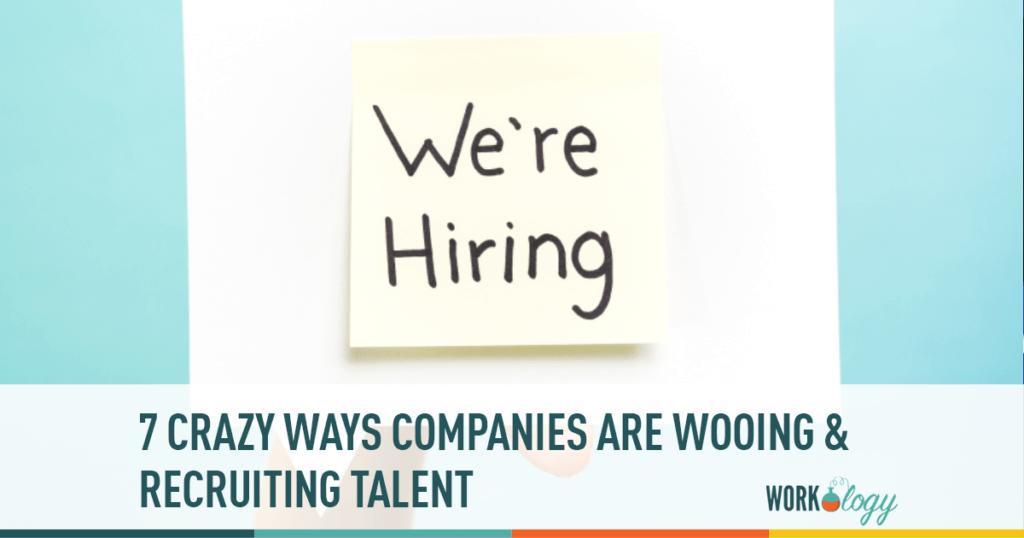 recruiting talent, woo talent, crazy hiring,