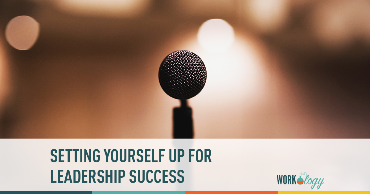 setting yourself up for leadership success