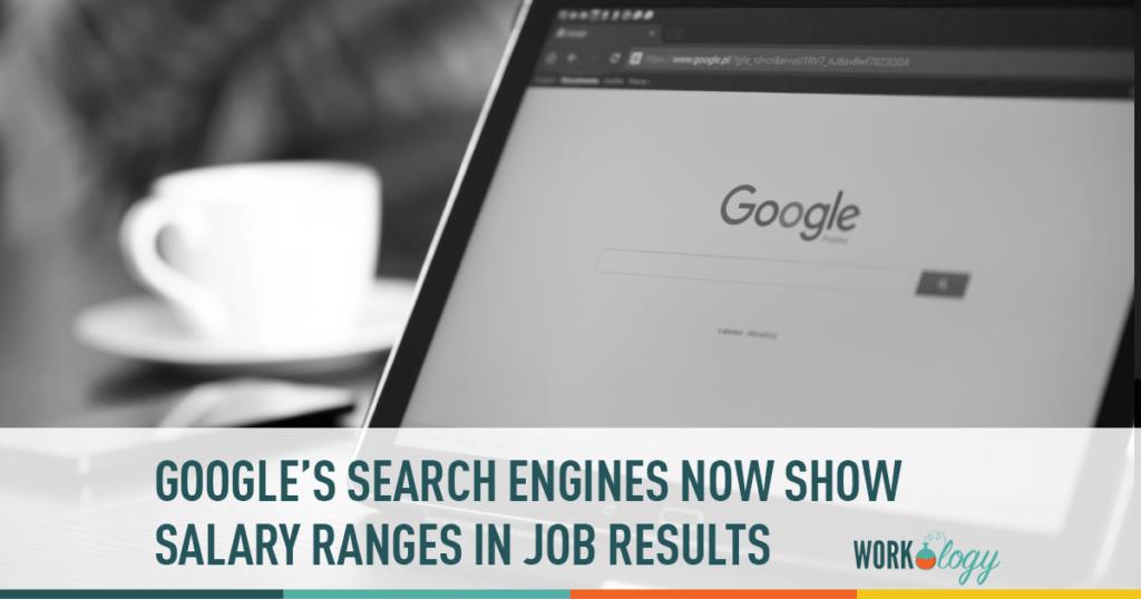 google jobs salary ranges, google job posting salary, salaries google search results,