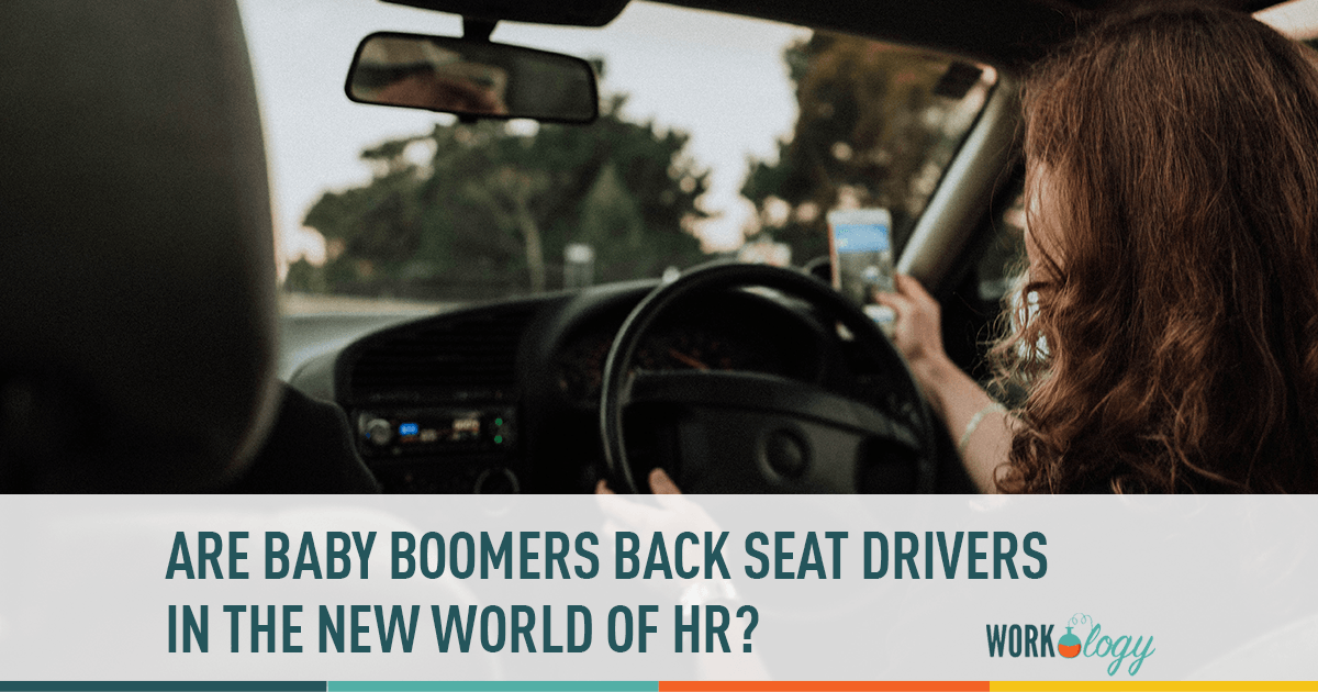 Are baby boomers back seat drivers in the new world of HR?