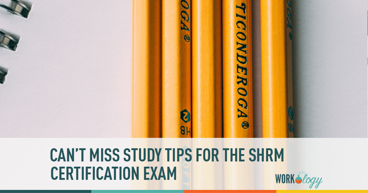 5 Tips for Studying in Preparation for the SHRM