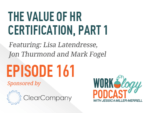 the value of hr certification part 1