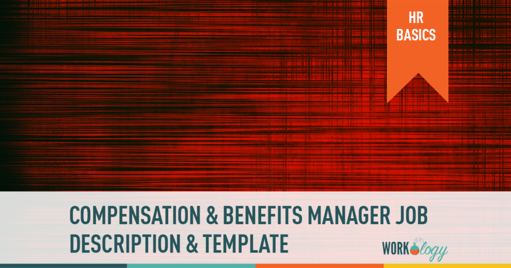 compensation and benefits manager job description template