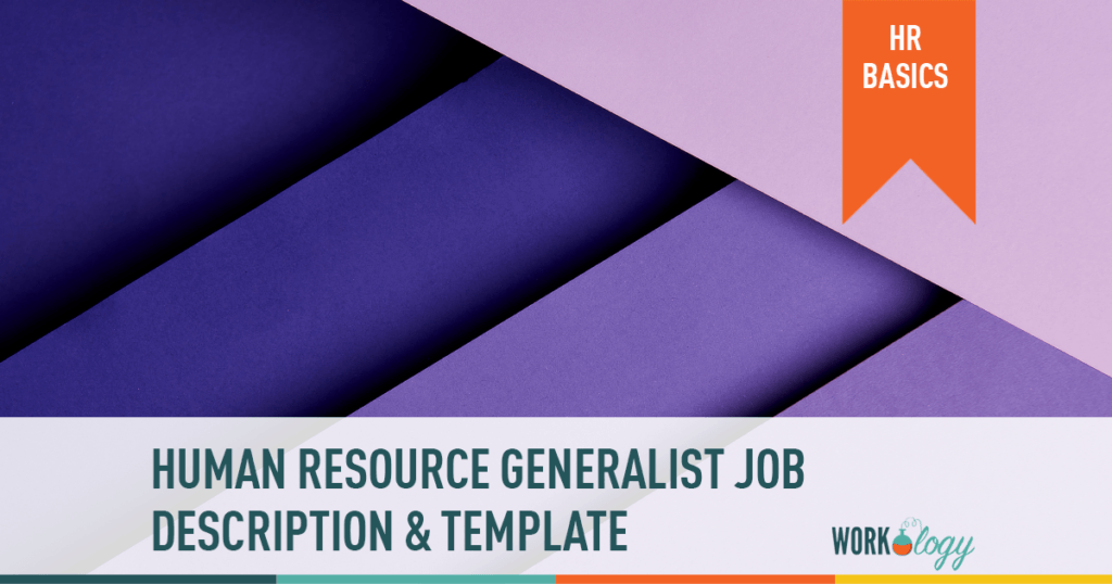 hr human resource generalist job description template
