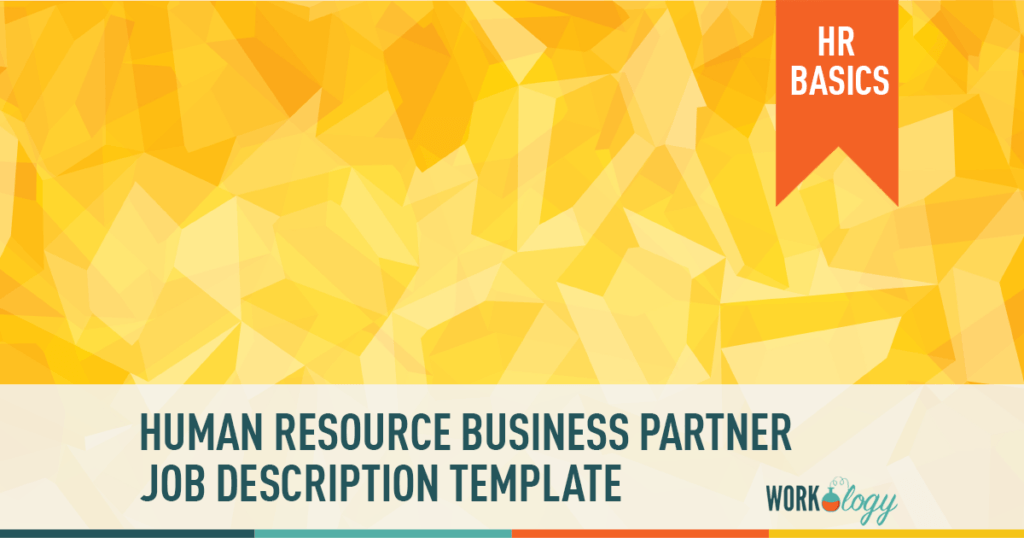 human resources business partner job description template, HRBP