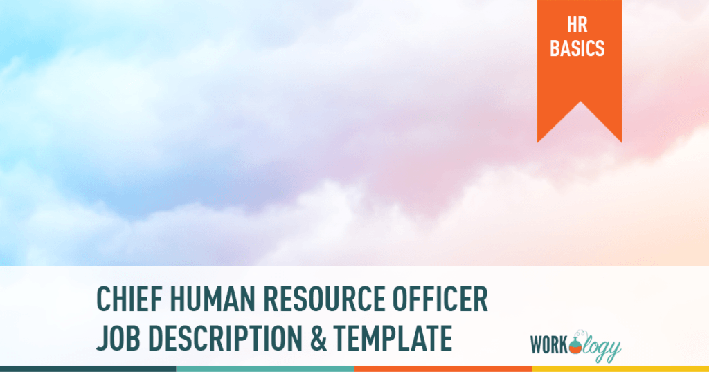 CHRO job description, chief human resources template