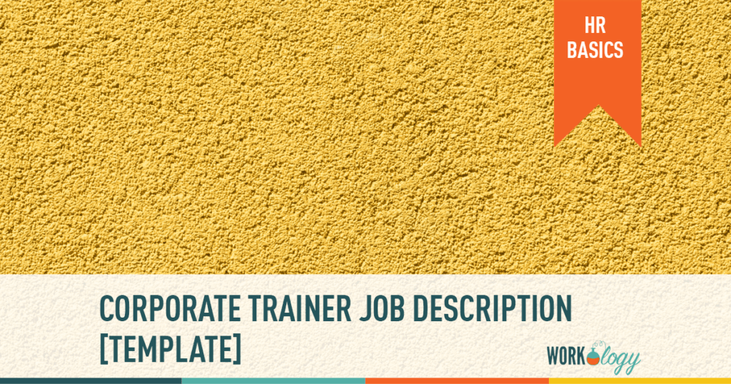 trainer job description template