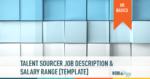 technical talent sourcer job description salary range