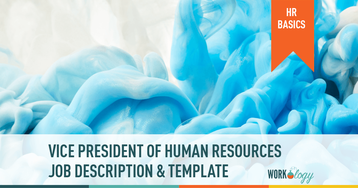 vice president of human resources job description, VP of HR template