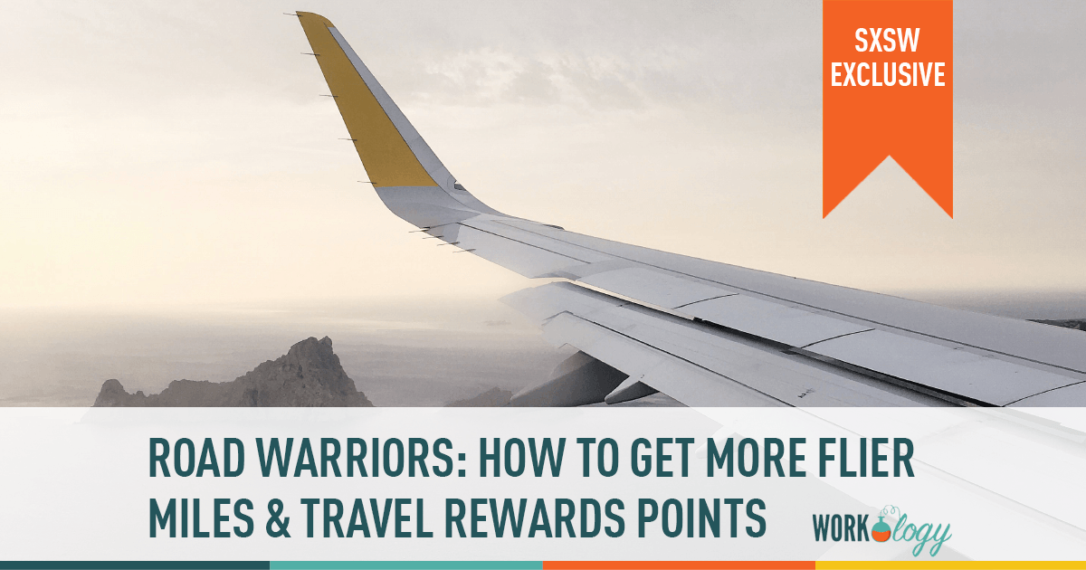frequently flier miles travel rewards points sxsw