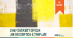 Chief Diversity Officer job description posting template salary range