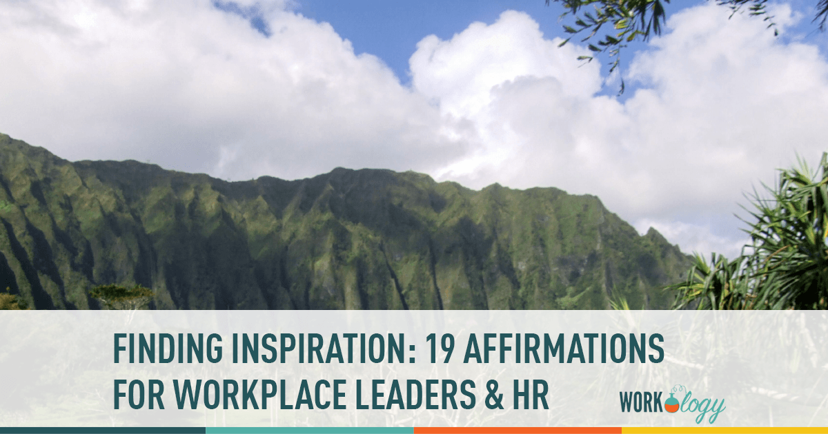 workplace leadership hr affirmations leader