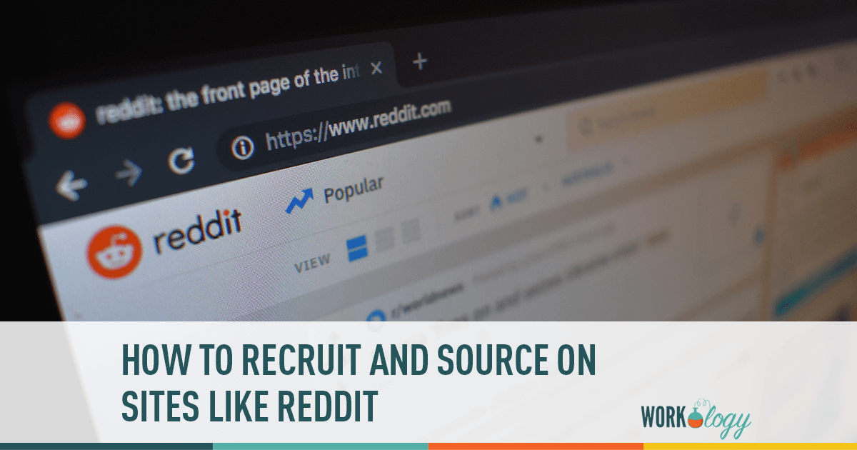 How to Recruit and Source on Sites Like Reddit | Workology