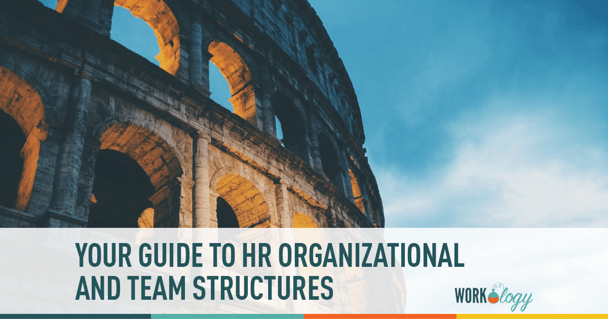 Hr Organizational Chart And Department Structures Workology