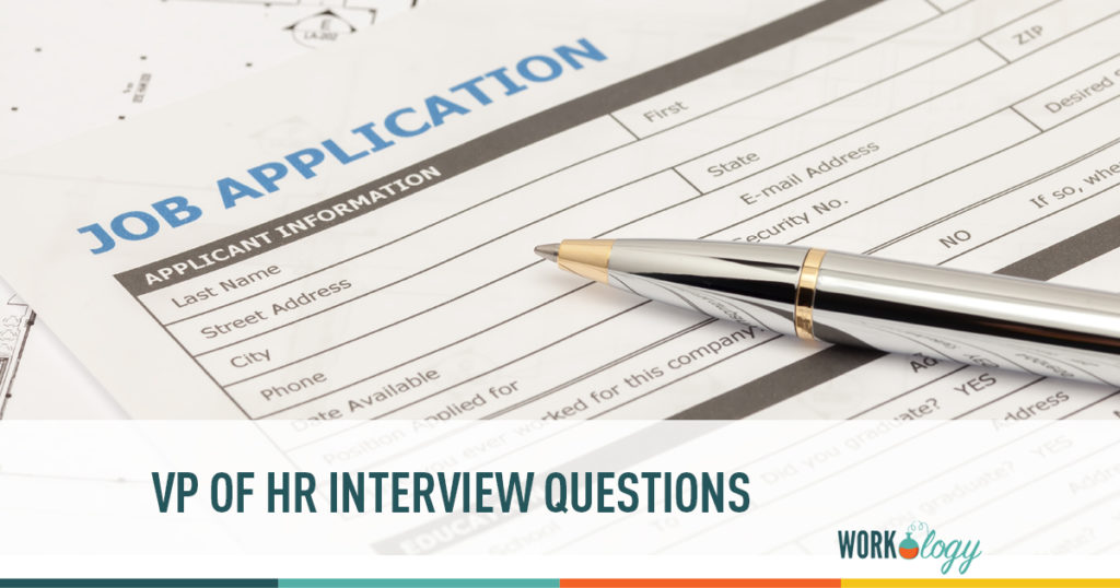 Vice President of HR Interview Questions