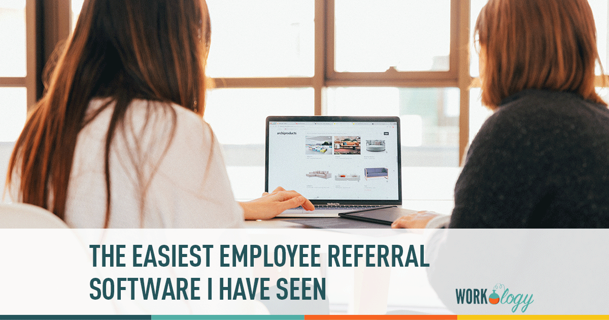Easiest employee referral software
