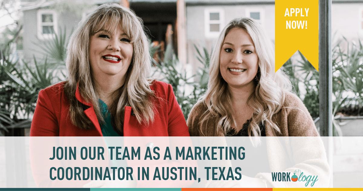 marketing coordinator Austin Texas