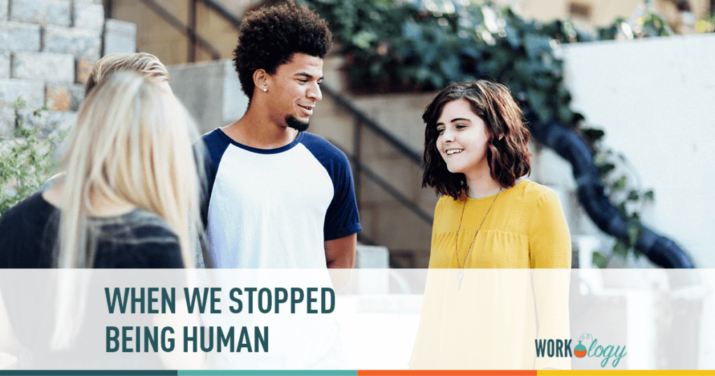 When We Stopped Being Human
