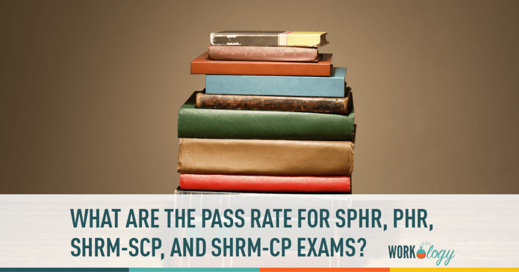 pass rates sphr phr shrm-cp shrm-scp