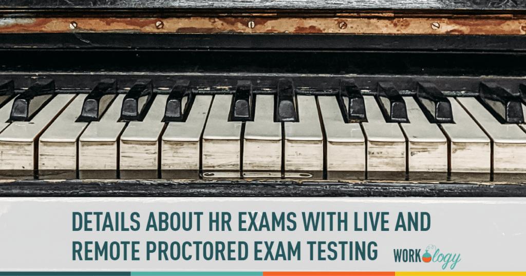 HR Exam live proctor remote testing