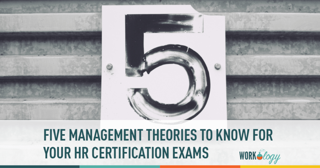 management theories for HR certification exam